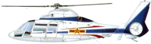Profil couleur du Harbin Z-9 'Haitun'