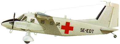 Profil couleur du Dornier Do 28 Skyservant