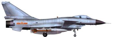 Profil couleur du Chengdu J-10 'Firebird'
