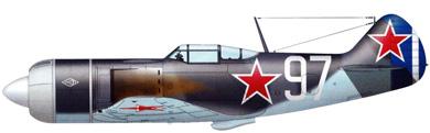 Profil couleur du Lavotchkin La-7 'Fin'