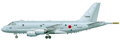 Profil couleur du Kawasaki P-1