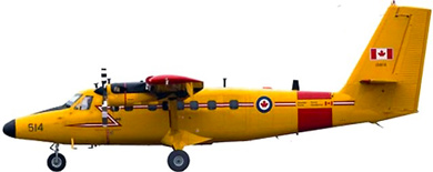 Profil couleur du Viking Twin Otter 400 / Guardian 400