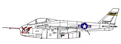 Profil couleur du Bell X-5