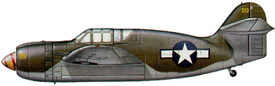Profil couleur du Brewster XA-32