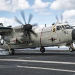Carrier Onboard Delivery, le transport aérien embarqué américain