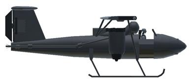 Profil couleur du Bell Model 65 ATV