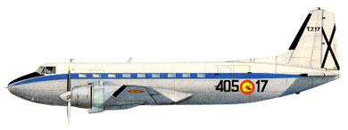 Profil couleur du Casa C-207 Azor