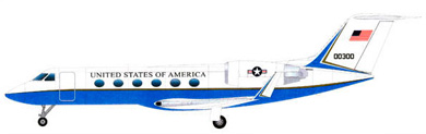 Profil couleur du Gulfstream Aerospace VC-11 / C-20 / C-37