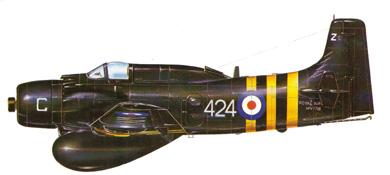 Profil couleur du Douglas EA-1 Skyraider