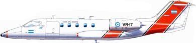 Profil couleur du Bombardier Learjet 35 (C-21)