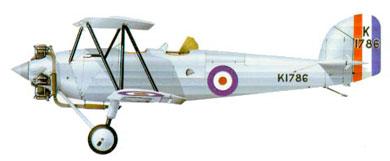 Profil couleur du Hawker Tomtit