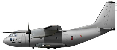 Profil couleur du Alenia C-27J Spartan II