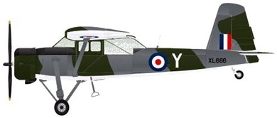Profil couleur du Scottish Aviation Pioneer