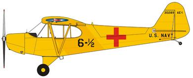 Profil couleur du Piper AE-1 / HE-1