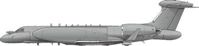Profil couleur du Gulfstream Aerospace G550CAEW