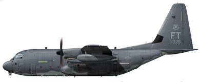 Profil couleur du Lockheed HC-130 Combat King
