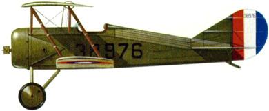 Profil couleur du Thomas-Morse S-4 Tommy