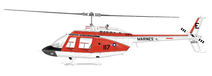 Profil couleur du Bell TH-57 Sea Ranger / TH-67 Creek
