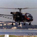 """Les """"caddies volants"""", de drôles d'Alouette II dans la Marine Nationale"""