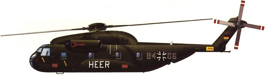Profil couleur du Sikorsky CH-53 Sea Stallion