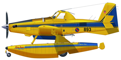 Profil couleur du Air Tractor AT-802