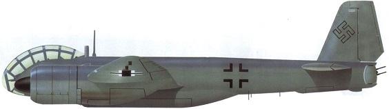 Profil couleur du Junkers Ju 388 Störtebeker