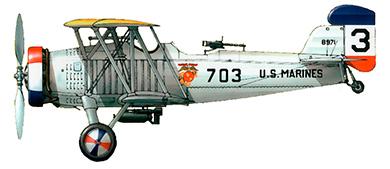 Profil couleur du Curtiss O2C Helldiver