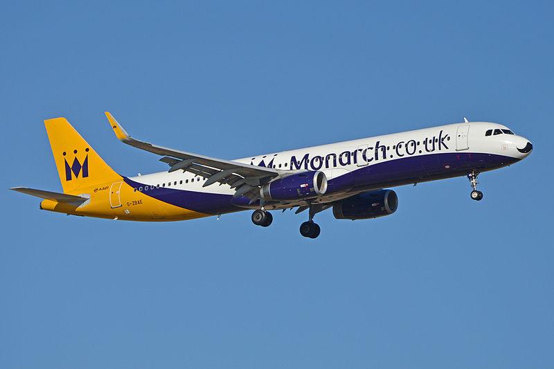 La compagnie aérienne britannique Monarch Airlines ...