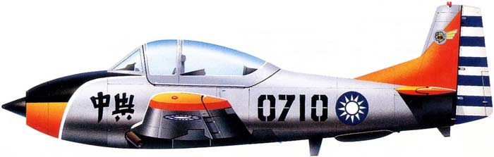 Profil couleur du AIDC T-CH-1 Chung Hsing