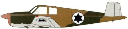 Profil couleur du Beechcraft Bonanza