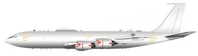 Profil couleur du Boeing E-6 Mercury