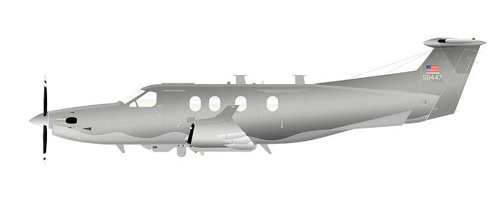 Profil couleur du Pilatus PC-12 Eagle