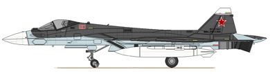Profil couleur du Sukhoi Su-57
