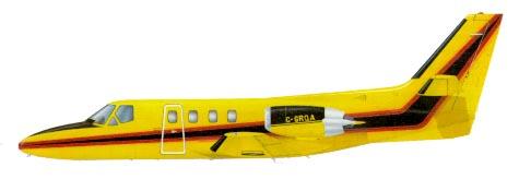 Profil couleur du Cessna UC-35 / T-47 / OT-47 Citation