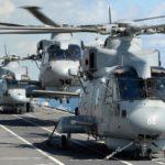 Les navires britanniques accueillant ou recevant des aéronefs
