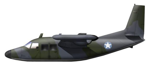 Profil couleur du Piaggio P.166