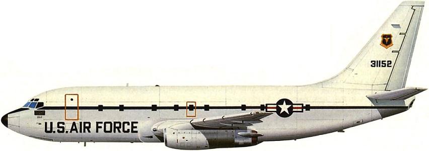 Profil couleur du Boeing T-43/ CT-43 Gator