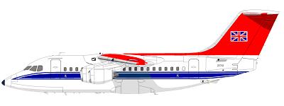 Profil couleur du BAe 146