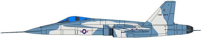 Profil couleur du Northrop YF-17 Cobra