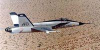 Miniature du Northrop YF-17 Cobra