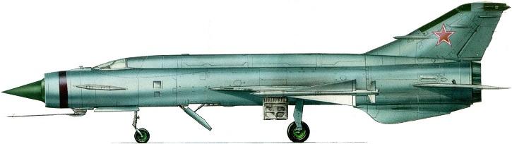Profil couleur du Mikoyan-Gurevitch Ye-152 'Flipper'