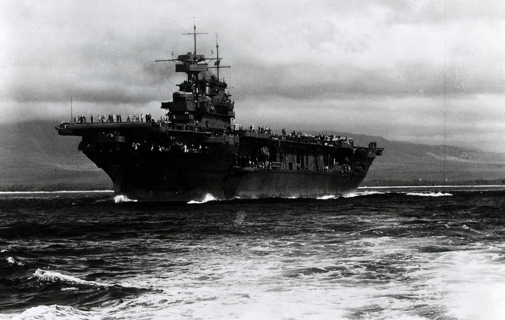 Ils ont retrouv le porte avions am ricain uss lexington - Porte avion japonais seconde guerre mondiale ...