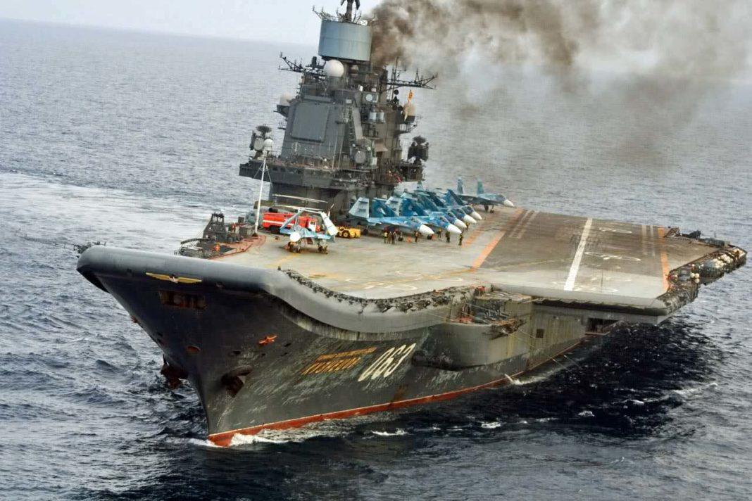 La Marine Russe Na Temporairement Plus De Porte Avions