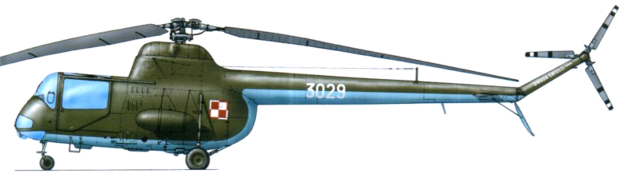 Profil couleur du PZL SM-2