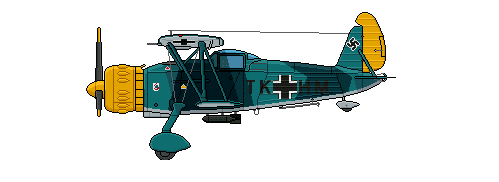 Profil couleur du Arado Ar 197