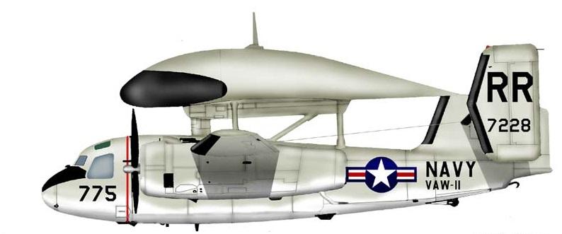 Profil couleur du Grumman E-1 Tracer