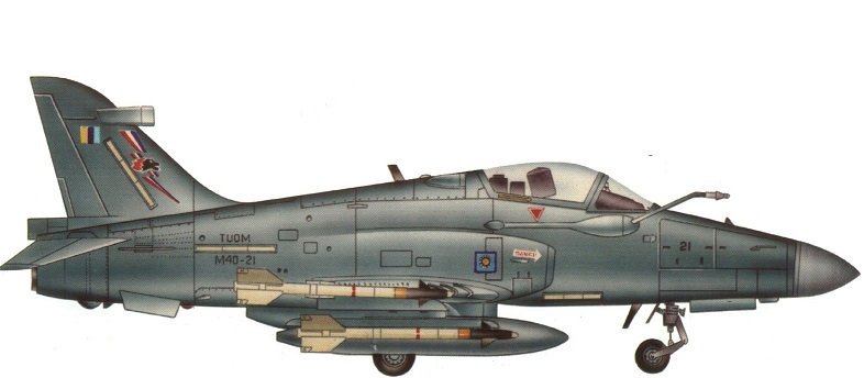 Profil couleur du British Aerospace Hawk 200