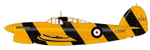 Profil couleur du Hawker Henley
