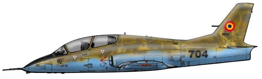 Profil couleur du I.A.R. IAR-99 Soim