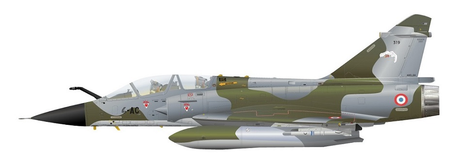 Profil couleur du Dassault Aviation Mirage 2000N
